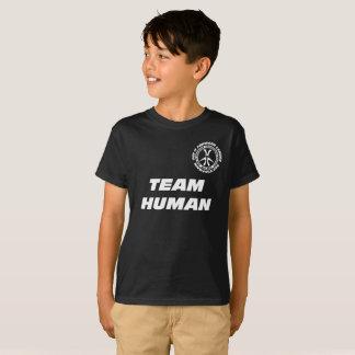 """Kinder """"Team-Mensch """" T-Shirt"""