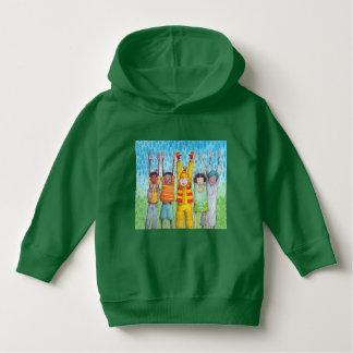 Kinder von all die Farben Hoodie