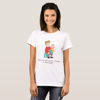 Kinder werden Leser - T-Shirt gemacht