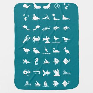 Kinderbaby-Kindervogel-Tier-Fisch-Haustiere Baby-Decke