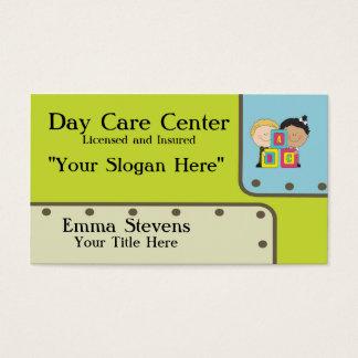 Kinderbetreuung ABC-KinderVisitenkarte-Schablone Visitenkarte