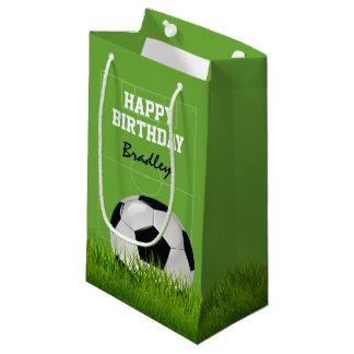 Kinderfußball-Fußball-alles Gute zum Geburtstag | Kleine Geschenktüte
