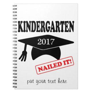 Kindergarten 2017 nagelte es notizblock