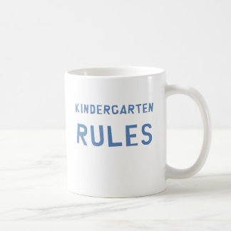 Kindergarten-Regeln Kaffeetasse