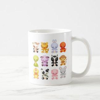 Kindergarten-Tier-Piggy Kaffeetasse