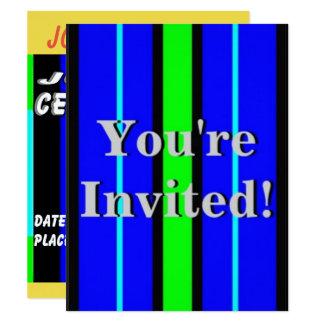 Kindergeburtstag-Party 10,8 X 14 Cm Einladungskarte
