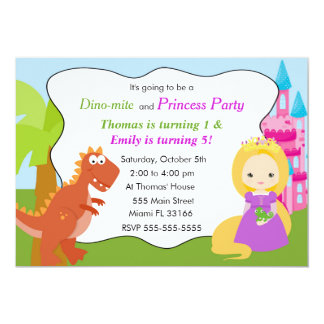 Kindergeburtstag-Party 1 Karte