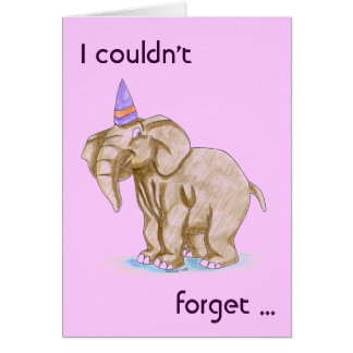 Kindergeburtstag-Party danken Ihnen/Kitschy Dank Karte