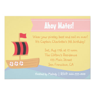 Kindergeburtstag-Party: Niedliches 14 X 19,5 Cm Einladungskarte