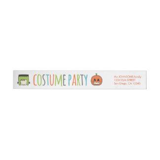 Kinderhalloween-Kostüm-Party Einladung