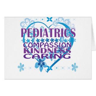 Kinderheilkunde-Mitleid, Güte u. kümmerte Geschenk Karte