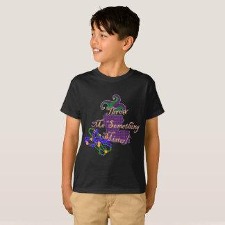 Kinderkarneval wirft mich etwas Herr T-Shirt
