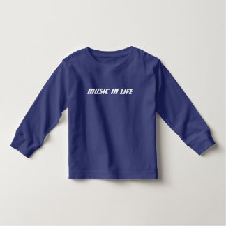 Kinderlanger T - Shirt - Musik im Leben-Logo