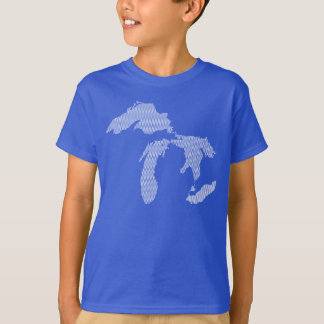 Kindermichigan-Shirt T-Shirt