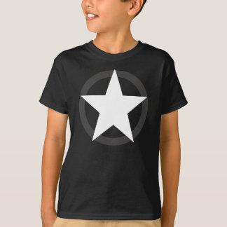 Kindermilitär spielt T-Shirt die Hauptrolle