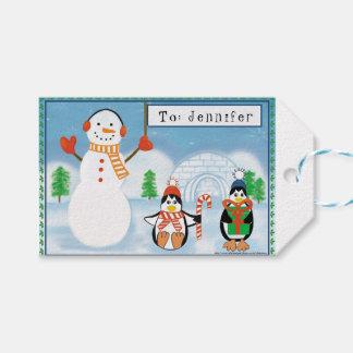 Kinderpersonalisierte doppelseitige geschenkanhänger