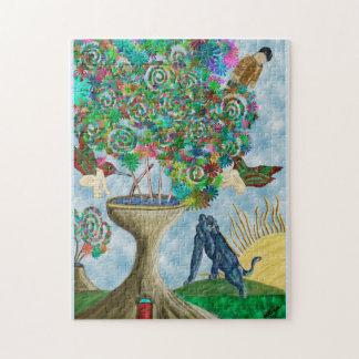 Kinderphantasie-Kunst-Geschenk-Puzzlespiel