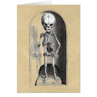 KinderSkeleton vorderes/hinter Grußkarte