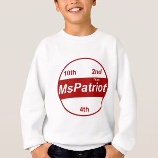 KinderSweatshirt-vertikale Schablone - besonders Sweatshirt