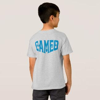 KinderT - Shirt mit blauem Miniatur-Logo