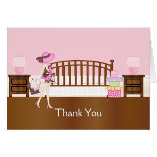 Kinderzimmer danken Ihnen Notecard (PCA) Karte