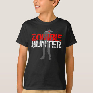 Kinderzombie-Jäger-T - Shirt