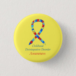 Kindheits-Disintegrative Störungs-Band-Buttone Runder Button 2,5 Cm
