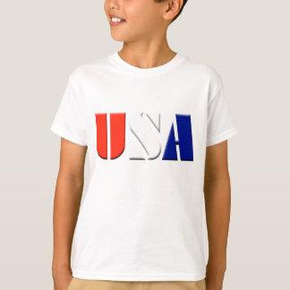 Kindpatriotischer USA-T - Shirt
