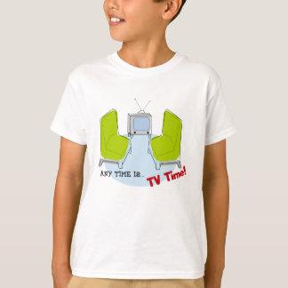 KindRetro Fernsehzeit! Entwurfs-T - Shirt