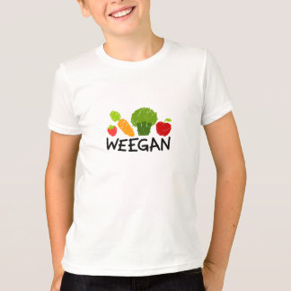 KindWeegan T - Shirt - Licht