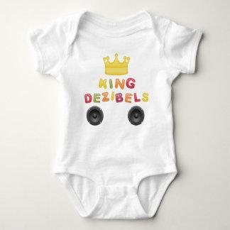 King Dezibels Baby Strampler