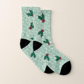KiniArt Aloha Stechpalmen-Socken Socken