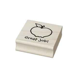 KiniArt Gewohnheit Apple Gummistempel