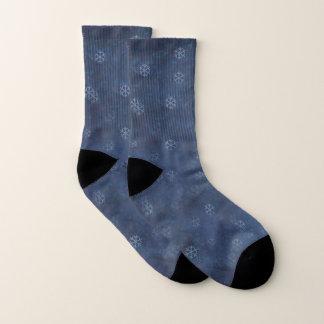 KiniArt Schneeflocke-Socken Socken