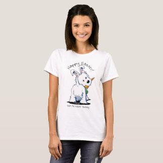 KiniArt Westie Ostern Bummy T-Shirt