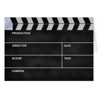 Kinoclap Mitteilungskarte