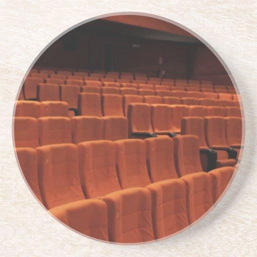 Kinotheater-Bühnesitze Getränkeuntersetzer