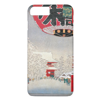 Kinryuzan Tempel, Asakusa, 1856 iPhone 8 Plus/7 Plus Hülle