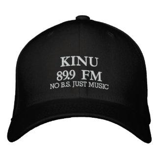 KINU 89,9 FM, KEIN B.S. JUST MUSIC BESTICKTE MÜTZEN