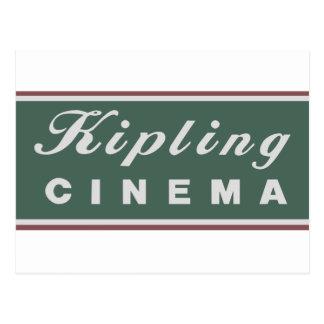 Kipling Kino-Logo-Postkarte Postkarte