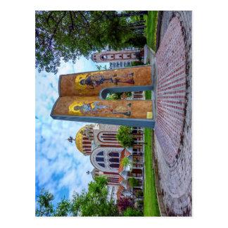 Kirche der Heiliger Cyril und Methodius in Postkarte