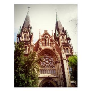 Kirche der Heiliger Olga und Elizabeth Postkarte