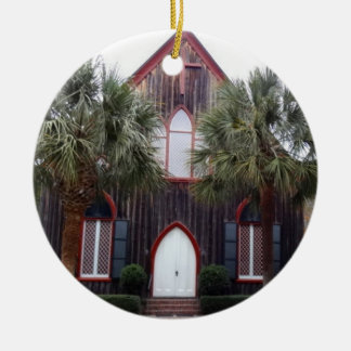Kirche des Kreuzes - Bluffton, South Carolina Keramik Ornament