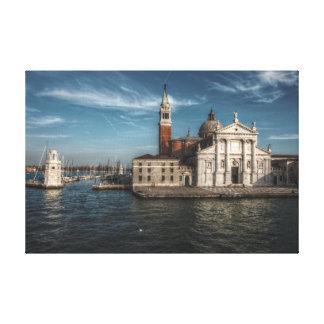 Kirche Venedig Italien Sans Giorgio Maggiore Leinwanddruck