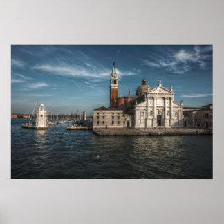 Kirche Venedig Italien Sans Giorgio Maggiore Poster