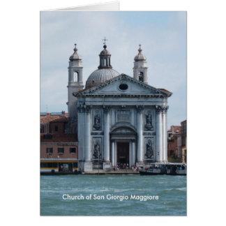 Kirche von San Giorgio Maggiore Karte