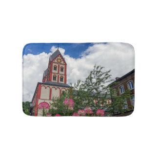 Kirche von St Bartholomew, Lüttich, Belgien Badematte