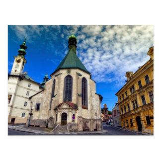 Kirche von St. Catherine, Banska Stiavnica, Postkarte