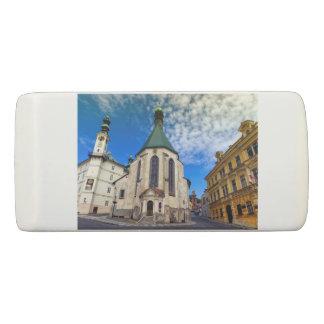 Kirche von St. Catherine, Banska Stiavnica, Radiergummi 1