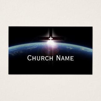 Kirchen-Pastor-Raum-heiliges Querlicht Visitenkarte
